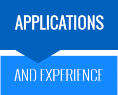applications and experience